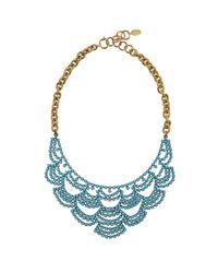Elizabeth Cole   Blue Ec + Banana Republic: Austen Necklace   Lyst
