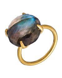 Heather Hawkins - Multicolor Radiate Gemstone Ring - Labradorite - Lyst