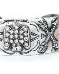 Irit Design - Metallic Sterling Silver And Diamond Native American Motif - Lyst