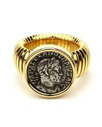 Ben-Amun - Metallic Roman Coin Gold Coin Ring - Lyst