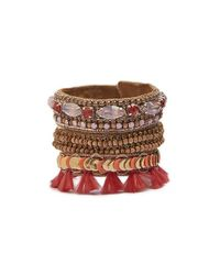 Deepa Gurnani - Multicolor Ova Cuff - Lyst
