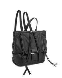 Kooba Bobbi Mini Backpack In Black