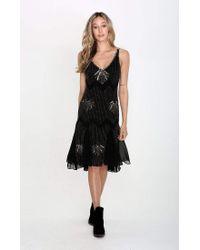Raga Black Dust Storm Midi Dress