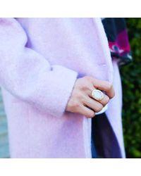 Margaret Elizabeth - Multicolor Ophelia Cocktail Ring Aqua Chalcedony - Lyst