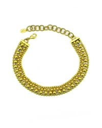 Elizabeth Cole   Metallic Bobi Necklace   Lyst