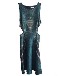 Johanne Beck | Blue Claudette A Line Dress Teal Pearl S | Lyst