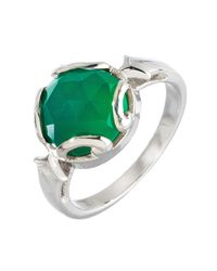 Heather Hawkins - Persephone Ring In Green Onyx - Lyst