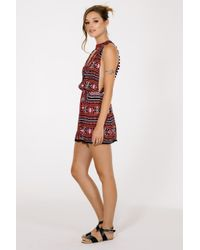 Raga - Black Riviera Maya Mini Dress - Lyst