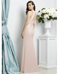 Dessy Collection - Pink Dress In Blush - Lyst