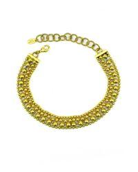 Elizabeth Cole - Metallic Bobi Necklace - Lyst