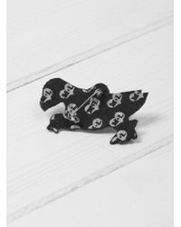 Macon & Lesquoy - Multicolor Puffin Brooch - Lyst