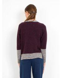 SIDELINE | Purple Lilia Jumper | Lyst