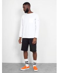 Norse Projects - Black Asmus Sport Short for Men - Lyst