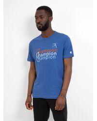 Todd Snyder - Blue Champion Crew T-shirt for Men - Lyst