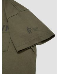 Engineered Garments - Green Trench Town Printed T-shirt for Men - Lyst