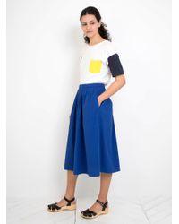 Thinking Mu - Blue Colours Sleeves T-shirt - Lyst