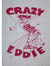 Bootleg Is Better Gray Crazy Eddie T-shirt for men