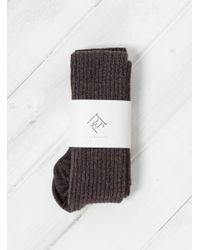 Baserange - Multicolor Merino Wool & Silk Overknee Socks - Lyst