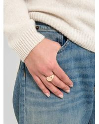 Helena Rohner - Multicolor Flat Round Front Signet Ring - Lyst
