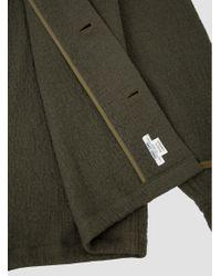 Shuttle Notes Surplus Shirt Jacket Green for men