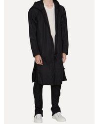 Boris Bidjan Saberi 11 - Black Raincoat for Men - Lyst