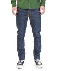 Nudie Jeans - Blue Nudie Jeans Lean Dean Dry Light Cool 11oz for Men - Lyst
