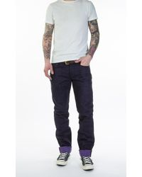 Naked & Famous - Blue Weird Guy M. Bison Selvedge 15oz for Men - Lyst