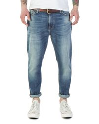 Nudie Jeans Blue Nudie Jeans Brute Knut True Crispy for men