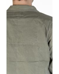 Nigel Cabourn - Lybro Mixed Field Jacket Nam Green for Men - Lyst