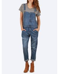 Current/Elliott Blue The Ranch Hand Overall