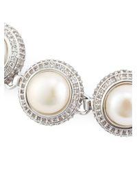 Eddie Borgo | Metallic Pearl Dome Bracelet | Lyst