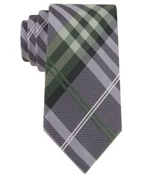 Geoffrey Beene - Green Petros Plaid Tie for Men - Lyst