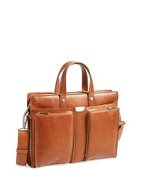 Ferrari Brown 'elite' Laptop Case for men