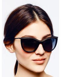 kate spade new york - Black Harmony Sunglasses - Lyst
