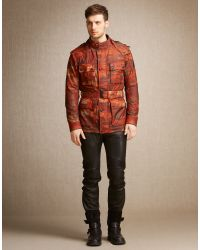 Belstaff | Red Roadmaster Jacket for Men | Lyst