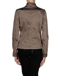 Armani Jeans - Gray Blazer - Lyst