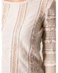 Isabel Marant Pink Quena Blouse