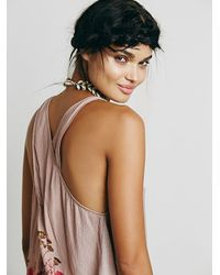 Free People | Natural Intimately Womens Floating Floral Cami | Lyst