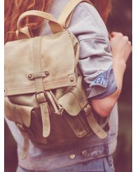 Free People | Green Jericho Backpack | Lyst