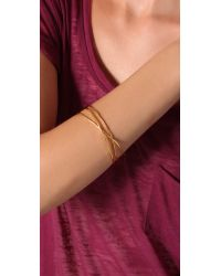 Gorjana | Metallic Laurel Bangle - Gold | Lyst