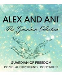 ALEX AND ANI Metallic Guardian Of Freedom Expandable Wire Bracelet