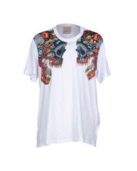 Laneus - White T-shirt for Men - Lyst