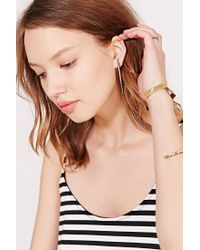 Urban Outfitters - Metallic Georgia Metal Porcupine Quill Drop Earring - Lyst
