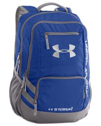 Under Armour | Blue Storm Hustle Backpack for Men | Lyst