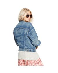 Denim & Supply Ralph Lauren - Blue Relaxed Denim Trucker Jacket - Lyst
