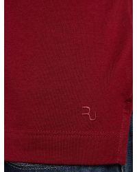 Remus Uomo - Red Plain Regular Fit Polo Shirt for Men - Lyst