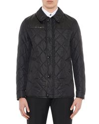Burberry Black Kenley Quilted Field Jacket for men