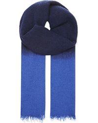 Destin | Blue Duofluffy Scarf for Men | Lyst