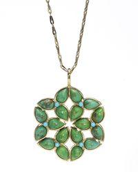 Elizabeth Showers | Green Kaleidoscope Turquoise Pendant Necklace | Lyst