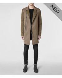 AllSaints - Natural Payne Mac for Men - Lyst